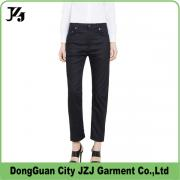 J0008 JZJ OEM custom factory women 2017 cotton spandex long pants