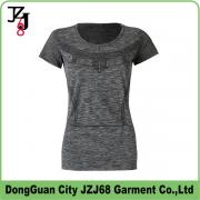 J00348 JZJ68 OEM CUSTOM WOMEN COTTON+SPANDEX  LONG T SHIRTS TIGHT STYLE